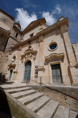 Ragusa Ibla Chiesa Santa Maria dell' Itria