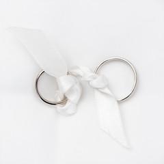 wedding rings in white gold