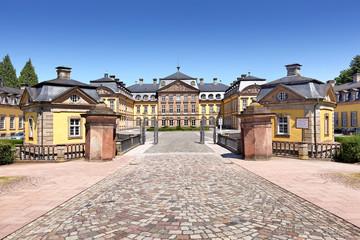 Eingang zum Schloss Bad Arolsen