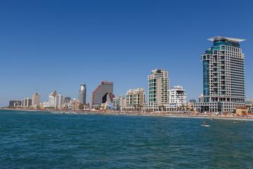 tel aviv panorama .israel