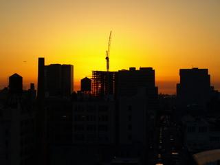 Affiche - Crane Silhouette NYC-2