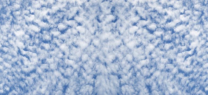 Cloudy sky altocumulus cloudscape background
