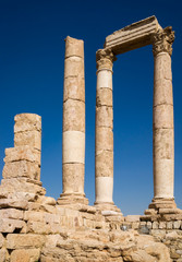 Temple at Amman's Citadel
