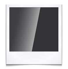 Blank photo frame,