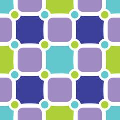Fresh geometric seamless pattern