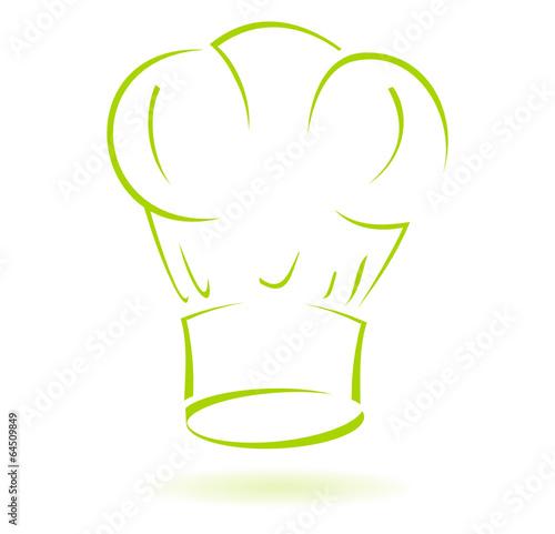 Logo toque chef cuisinier fichier vectoriel libre de - Image toque cuisinier ...