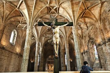 Interior Church of Jerónimos