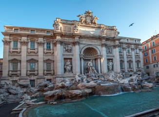 Aluminium Prints Rome Fontaine de Trevi - Rome