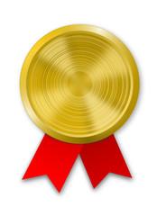 Goldmedaille Plakette