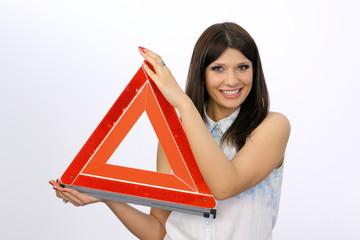 Wall Mural - trójkąt