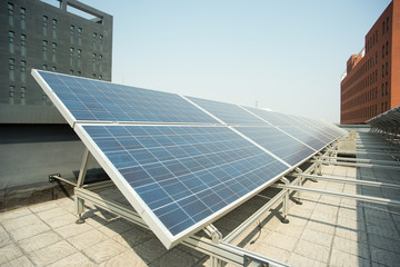 Rooftop solar power station