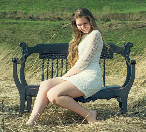Видео девушки на природе расслабляются фото 121-864