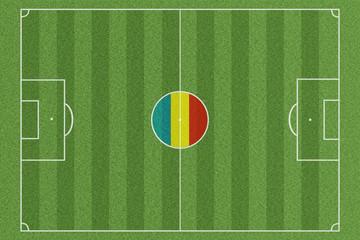 Fussballfeld Rumänien