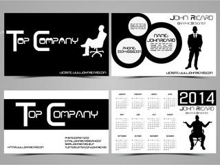 BUSINESS CARD ABSTRACT CREATIVE SET 5