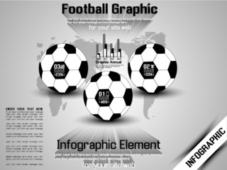 INFOGRAPHIC FOOTBALL 3 MODERN STYLE