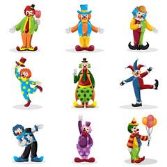 Clown icons