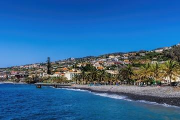 Santa Cruz Village on Madeira island, Portugal