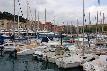 Nizza Yachthafen Côte d'Azur Riviera