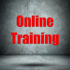 Online Training concrete wall