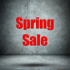 Spring Sale concrete wall