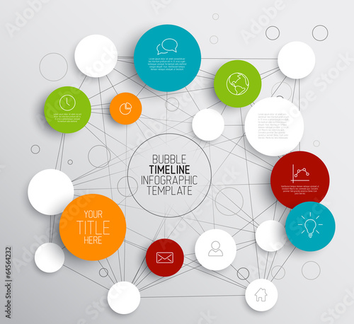 Infographic video template