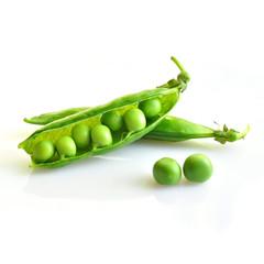 Close-up of fresh green pea