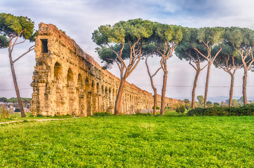 Fotomurales - Park of the Aqueducts, Rome