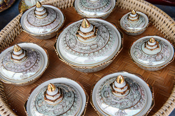 Antique afternoon tea coffee cup set