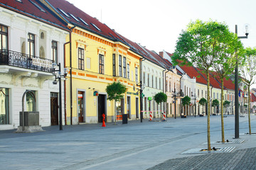 main square of Trnava city