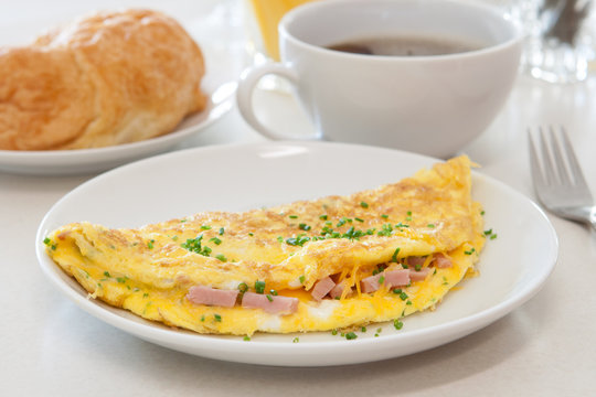 Ham and Cheese Omelet