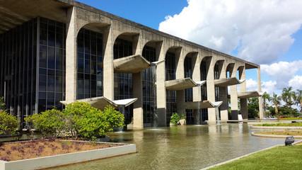 Government building in Brasilia, Brazil