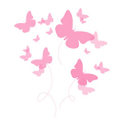 The Butterfly pink