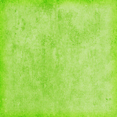 Grain green paint wall background or texture