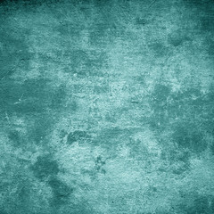 Turquoise dark grunge background