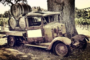 Winetruck los olivos vintage