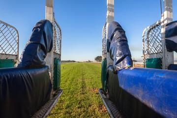 Horse Racing Training Start Gate