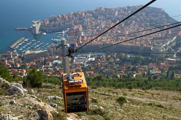 Seilbahn über Dubrovnik