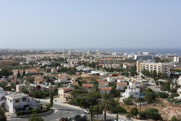 Cypriot city landscape