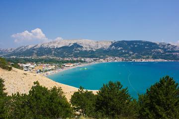Baska, island of Krk, Croatia