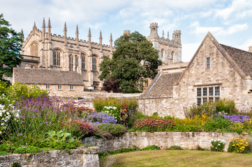 The War Memorial Garden at Christ Church College in Oxford
