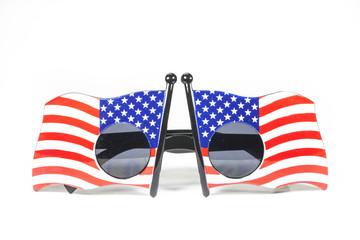 Glasses stripes American flag