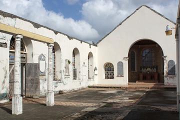 Ruine der Anglikanischen Kirche, Saint Georges, Grenada