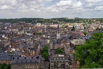 The bird's eye view of Namur