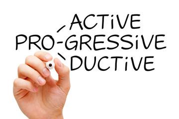 Proactive Progressive Productive