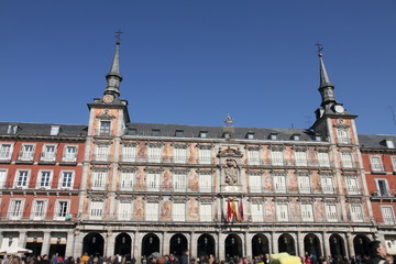 Plaza Mayor, Madrid city, Spain
