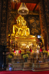 Thai Buddha Golden Statue.