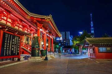 Main Hall at Sensoji Temple in Tokyo