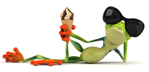 Papier Peint - Frog