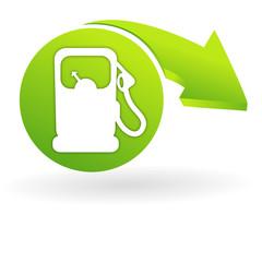 essence sur web symbole vert