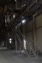 escalier d'usine
